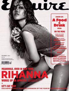 Rihanna for Esquire UK Magazine December 2014
