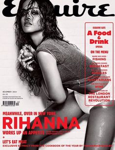Rihanna for Esquire UK Magazine December 2014