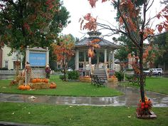 Stars Hollow from Gilmore Girls--wish I could live in a town that charming!