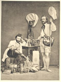 'The well-equipped Victorian naturalist: Nikolai Miklucho-Maklai and Ernst Haeckel.'