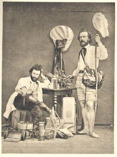 Entre Gulistan y Bostan - The well-equipped Victorian naturalist: Nikolai Miklucho-Maklai and Ernst Haeckel.