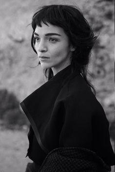 cool Vogue Itália Fevereiro 2014 | Mariacarla Boscono por Peter Lindbergh  [Editorial]