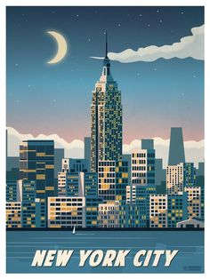 Travel Poster from IdeaStorm New York City New York Poster, Poster S, Poster Prints, Art Prints, Posters Decor, Travel Photographie, Ville New York, Pub Vintage, Voyage New York