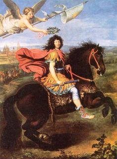 3) dieses Gemälde zeigt den siegreichen Ludwig XIV. Es hängt im zweiten Vorzimmer