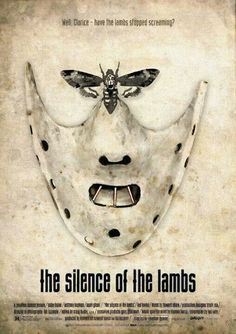 Items similar to The Silence of the Lambs poster cotton canvas American thriller film Handmade Wall Decor giclee large print on Etsy Horror Movie Posters, Cinema Posters, Movie Poster Art, Film Posters, Great Films, Good Movies, Horror Vintage, Sir Anthony Hopkins, Bon Film