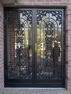 Pin By Ben Clapp On Doors Security Screen Door Oak Security Storm Doors