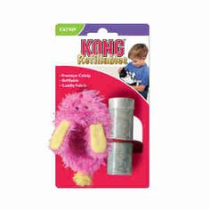 Kong Cat Refillable Fuzzy Slipper | Pet-Supermarket.co.uk