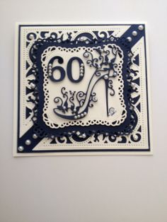Birthday Card using Spellbinders and Tattered Lace dies Special Birthday Cards, 21st Birthday Cards, Birthday Cards For Women, Handmade Birthday Cards, Card Making Inspiration, Making Ideas, Tonic Cards, Tattered Lace Cards, Spellbinders Cards