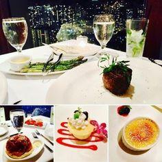登記お祝ディナー@The Signature Prime Steak & Seafood