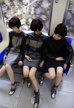 mikio sakabe spring/summer 2008 industrial dolls collection