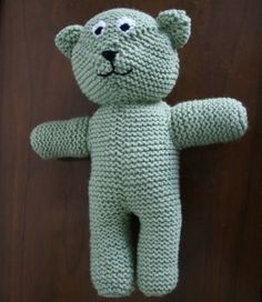 Knitted Teddy Bear Pattern For Charity : Bears on Pinterest Teddy Bears, Bears and Teddy Bear Patterns