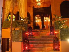 Avond in Marokko   Soirée au Maroc   Evening in Morocco