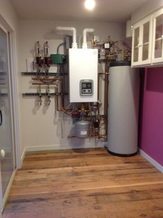 The new Triangle Tube boiler with indirect water heater