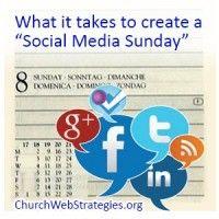 Starting a Social Media Sunday.