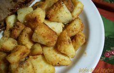 Golden Diced Potatoes Recipe - Recipezazz.com