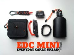 EDC Urban, the minimum Survival Mode, Urban Survival, Survival Prepping, Survival Stuff, Edc Carry, Carry On, Airsoft, Urban Edc, Materiel Camping