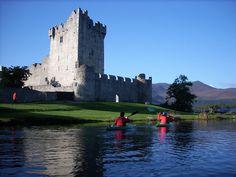 Outdoors Ireland - Guided Kayaking Trips - Kayaking Killarney Lakes - Sunset Kayaking - Killarney National Park Kayak Tour