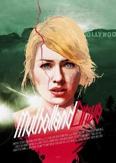 Another great alternative movie poster for the mesmerizing David Lynch stunner Mulholland Drive. This is a work of illustrator  and graphic designer  Grzegorz Domaradzki. Find more about him on his website: http://www.iamgabz.com/