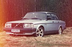 1989 Volvo 240 GL Turbo, my first car <3 RIP, Winslow.