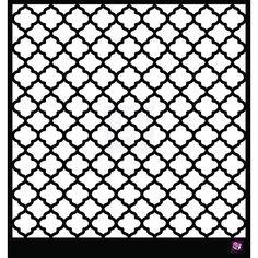 moroccan stencil pochoir marocain