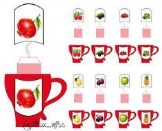 Дидактическая игра - Фруктовый и ягодный чай