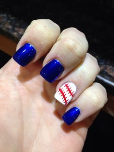New York Mets Nails
