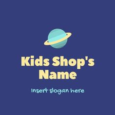 Slogan, Psychology, Logo Design, Kids Shop, Movie Posters, Videos, Psicologia, Film Poster, Billboard