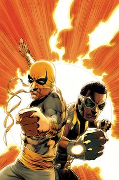 Power Man and Iron Fist by Mike Perkins