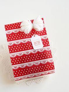 Ghirlanda di Popcorn   progetti creativi: sacchetti di carta
