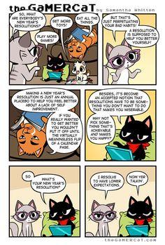 the GaMERCaT :: Resolved   Tapastic Comics - image 1