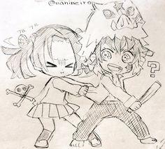 Twitter Demon Slayer, Slayer Anime, Gekkan Shoujo Nozaki Kun, Deadman Wonderland, Anime Figurines, Blue Exorcist, Anime Demon, Movie Characters, Sword Art Online