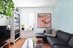 House Tour: An Art & Plant-Filled Toronto Rental | Apartment Therapy