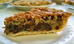 Nestle' Toll House Walnut Pie (Aka Black Cat Pie) just had awesome idea!  Friday pieday at work!!!