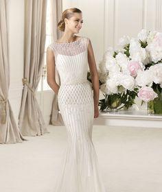 Pronovias te presenta el vestido de novia Delicia. Fashion 2013. | Pronovias