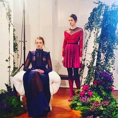 Such a beautiful setting #LFW #presentation #labyrinths #the #collection #of #SS16 #is #now #available #in-store