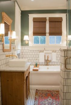 Ideas For Designing An Art Deco Bathroom See all our stylish art deco bathrooms design ideas. Art Deco inspired black and white design.See all our stylish art deco bathrooms design ideas. Art Deco inspired black and white design. Boho Bathroom, Bathroom Renos, Bathroom Interior, Neutral Bathroom, Bathroom Ideas, Bathroom Organization, Bathroom Mirrors, Remodel Bathroom, Bathroom Cabinets