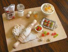 miniatura alimentos arte