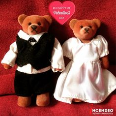 969bb2a1649a McDonalds Wedding Willy and Wendy Bear wishing you Happy Valentine s Day.   mcdonalds  wedding
