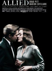 Allied is a 2016 World War II romantic thriller film directed by Robert Zemeckis and written by Steven Knight. It stars Brad Pitt as an intelligence officer and Marion Cotillard as a German spy posing as a French Resistance fighter, who fall in love during a mission to kill a German official in Casablanca.