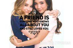 So true. Sabrina and Rowan are amazing. I'm a huge fan!!!