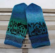 Ravelry: Byvotter/Kald november votter / Cold November mittens pattern by MaBe
