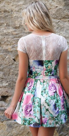 cute dress for the spring