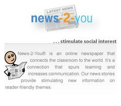 News-2-You: a weekly current events newspaper for special learners.