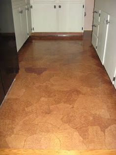 paper bag floor-easy, fun, and CHEAP(I did this in a kitchen in the 70s and loved, good to see this treatment is still viable)
