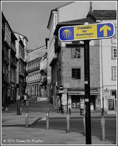 Camino de Santiago. Puerta del Camino. #Santiago de #Compostela