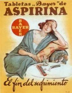 Datos y curiosidades sobre la aspirina La aspirina es un fármaco ácido acetilsalicílico hecho popular en el mundo, actúa como antiinflamator...