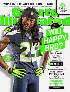 Seahawks' Richard Sherman is all smiles on Sports Illustrated cover