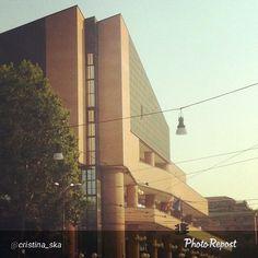 """#Torino raccontata dai cittadini per #inTO. Foto di cristina_ska """"Un buongiorno dal Palazzo di Giustizia di Torino"""""""