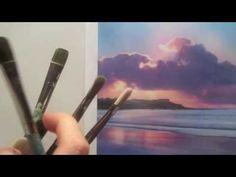 DIY beauty & Face masks : Illustration Description How to choose acrylic paint brushes – Acrylic painting techniques -Read More – Acrylic Paint Brushes, Acrylic Painting Techniques, Painting Videos, Acrylic Art, Painting & Drawing, Learn Art, Learn To Paint, Acrylic Painting Tutorials, Art Tutorials