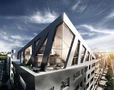 Sapphire, Berlin / Daniel Libeskind